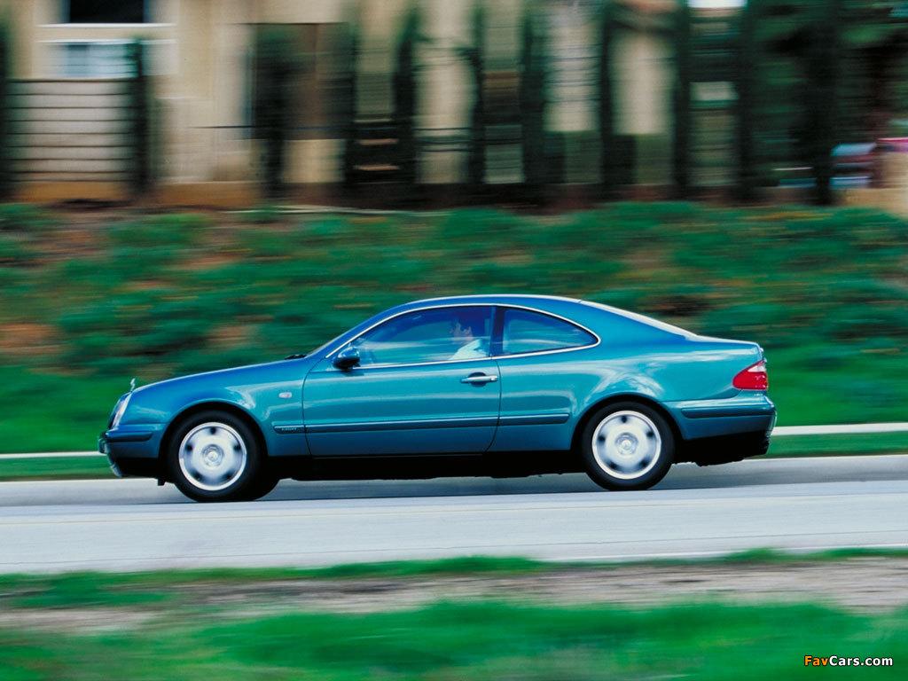 Pictures of Mercedes-Benz CLK-Klasse (C208) 1997–2002 (1024 x 768)