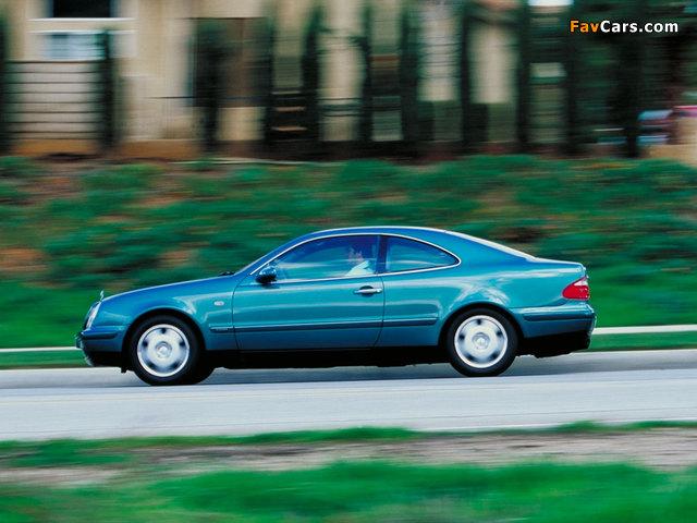 Pictures of Mercedes-Benz CLK-Klasse (C208) 1997–2002 (640 x 480)