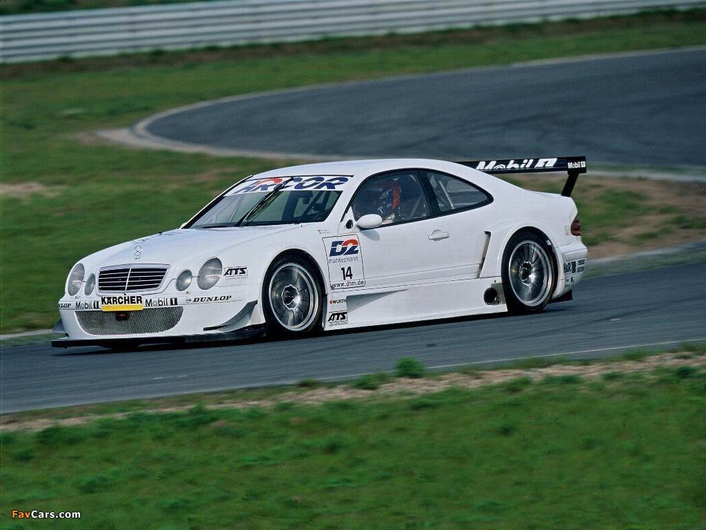 Pictures of Mercedes-Benz CLK DTM (C208) 2000–02 (1024 x 768)
