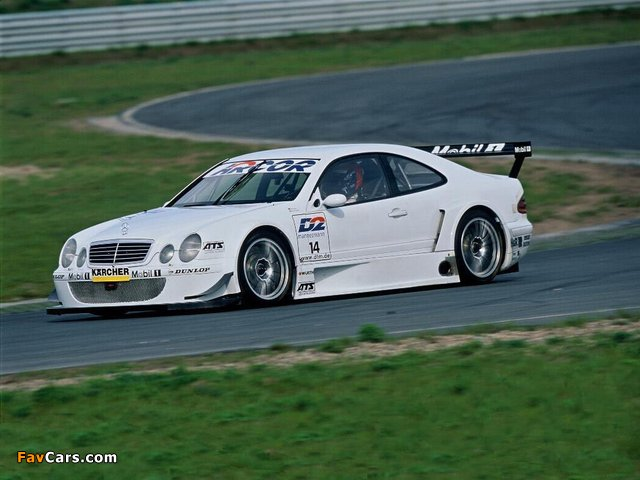 Pictures of Mercedes-Benz CLK DTM (C208) 2000–02 (640 x 480)