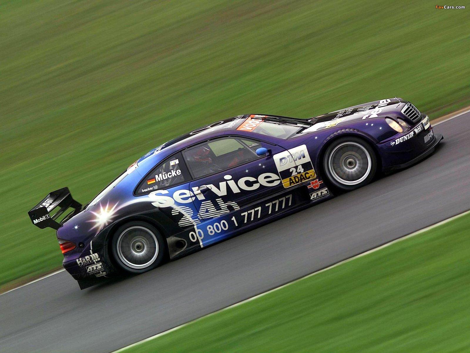 Pictures of Mercedes-Benz CLK DTM (C208) 2000–02 (1600 x 1200)