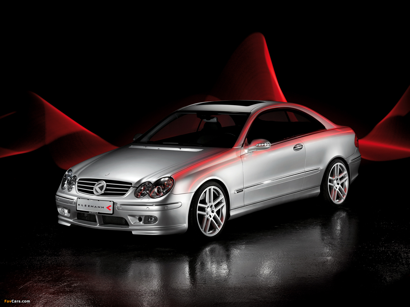 Pictures of Kleemann CLK50K S8 (C209) 2002–05 (1600 x 1200)