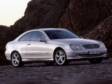 Pictures of Mercedes-Benz CLK 500 (C209) 2002–05