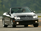 Pictures of Mercedes-Benz CLK 500 Convertible US-spec (A209) 2003–05