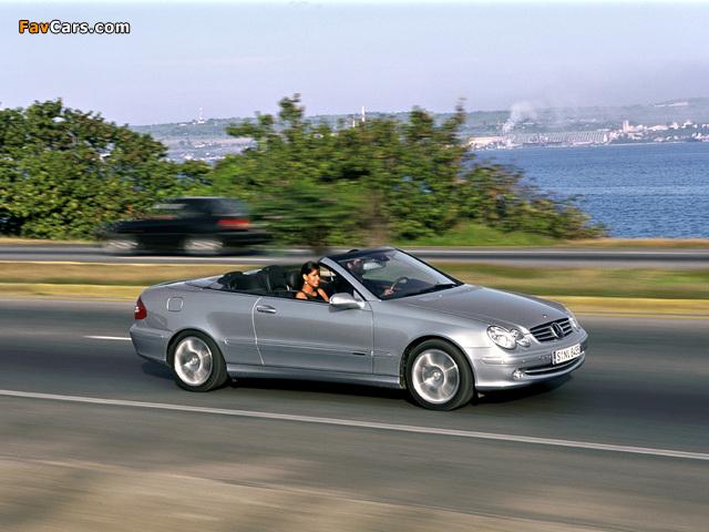 Pictures of Mercedes-Benz CLK 240 Cabrio (A209) 2003–05 (640 x 480)