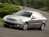 Pictures of Mercedes-Benz CLK 350 US-spec (C209) 2005–09
