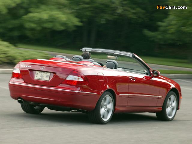 Pictures of Mercedes-Benz CLK 350 Convertible US-spec (A209) 2005–10 (640 x 480)