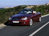 Pictures of Mercedes-Benz CLK 320 CDI Cabrio (A209) 2005–10