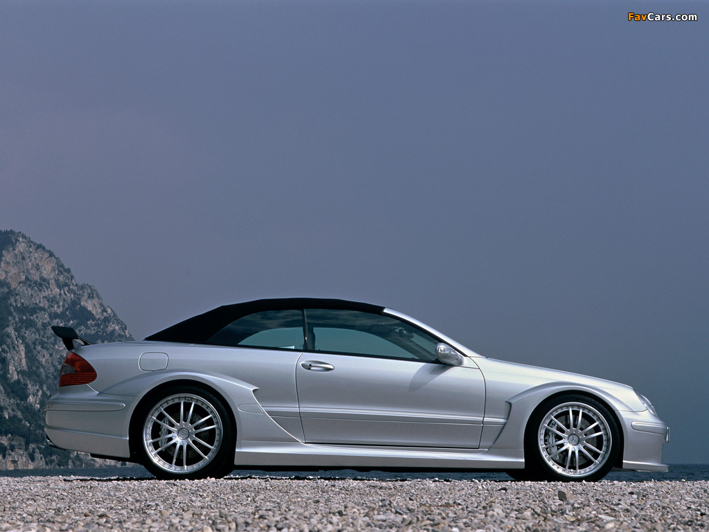 Pictures of Mercedes-Benz CLK AMG DTM Cabrio (A209) 2006 (1024 x 768)