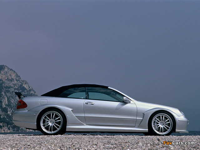 Pictures of Mercedes-Benz CLK AMG DTM Cabrio (A209) 2006 (640 x 480)