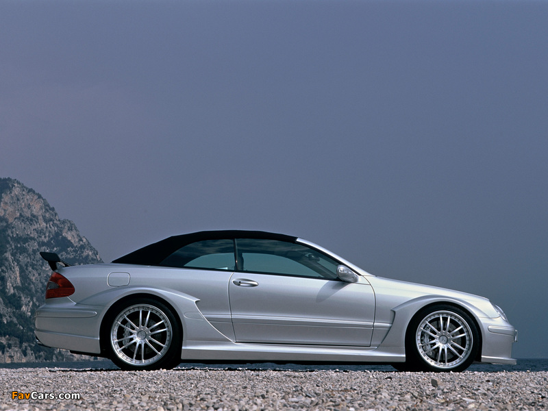 Pictures of Mercedes-Benz CLK AMG DTM Cabrio (A209) 2006 (800 x 600)