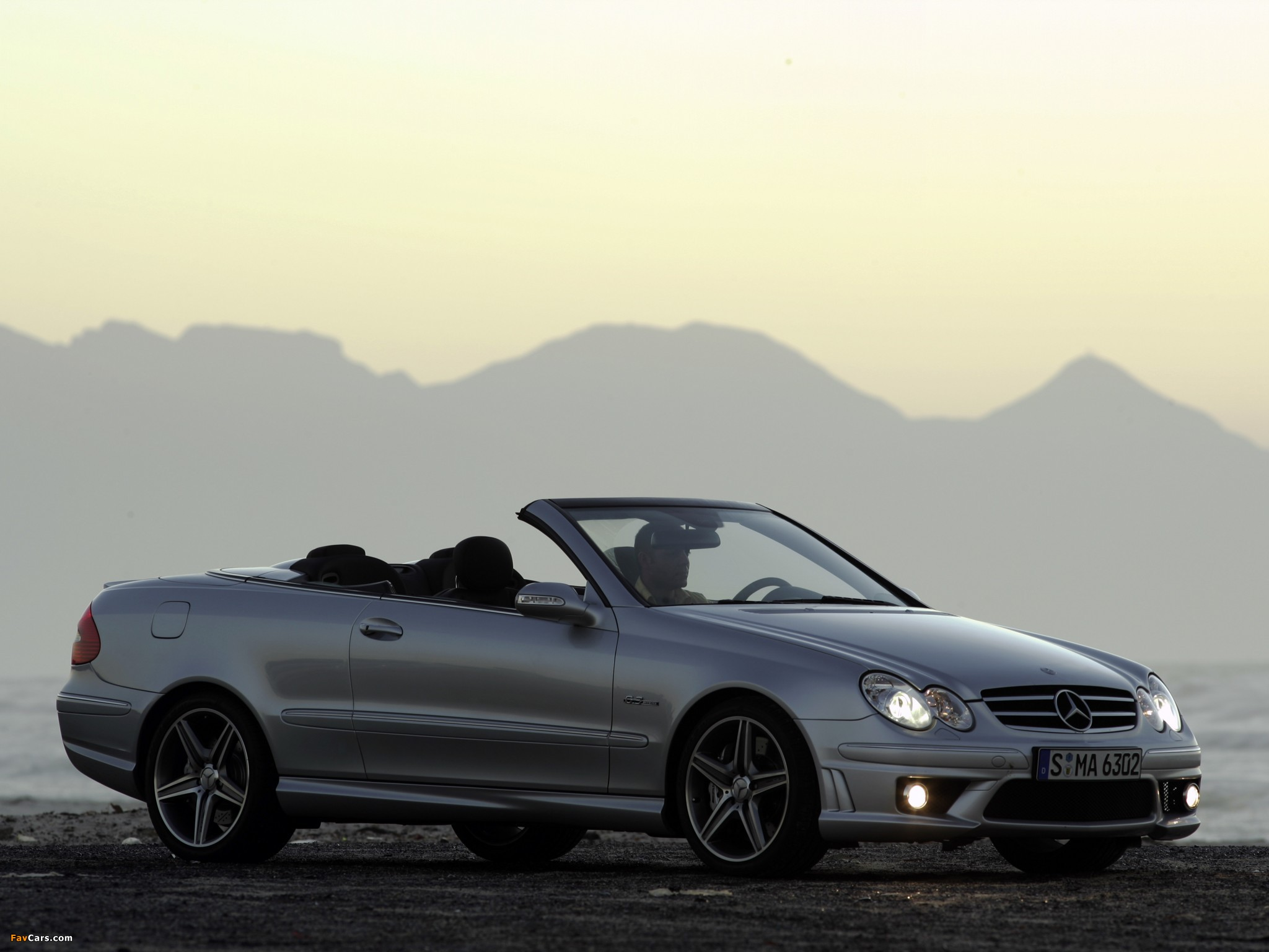 Pictures of Mercedes-Benz CLK 63 AMG Cabrio (A209) 2006–10 (2048 x 1536)