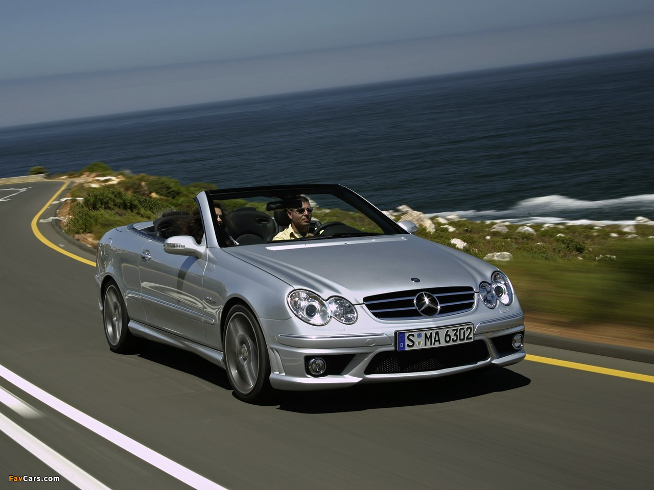 Pictures of Mercedes-Benz CLK 63 AMG Cabrio (A209) 2006–10 (1280 x 960)