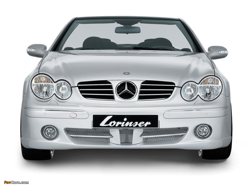Pictures of Lorinser Mercedes-Benz CLK-Klasse (A209) (1024 x 768)