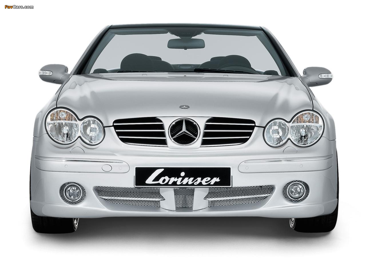 Pictures of Lorinser Mercedes-Benz CLK-Klasse (A209) (1280 x 960)