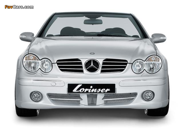 Pictures of Lorinser Mercedes-Benz CLK-Klasse (A209) (640 x 480)