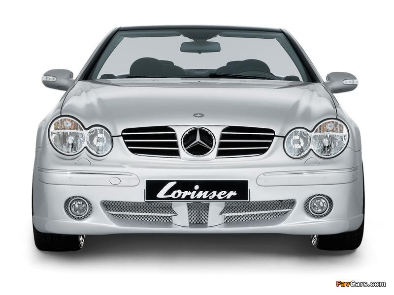 Pictures of Lorinser Mercedes-Benz CLK-Klasse (A209) (800 x 600)