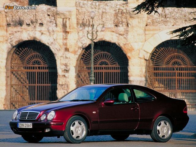 Mercedes-Benz CLK-Klasse (C208) 1997–2002 wallpapers (640 x 480)