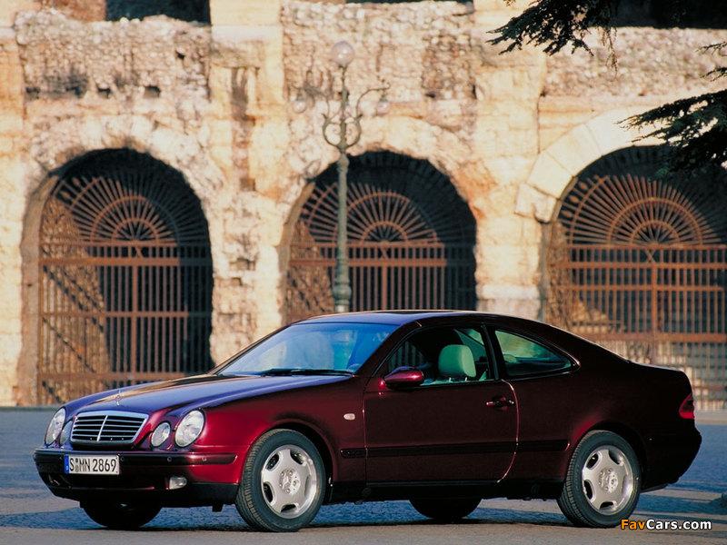 Mercedes-Benz CLK-Klasse (C208) 1997–2002 wallpapers (800 x 600)