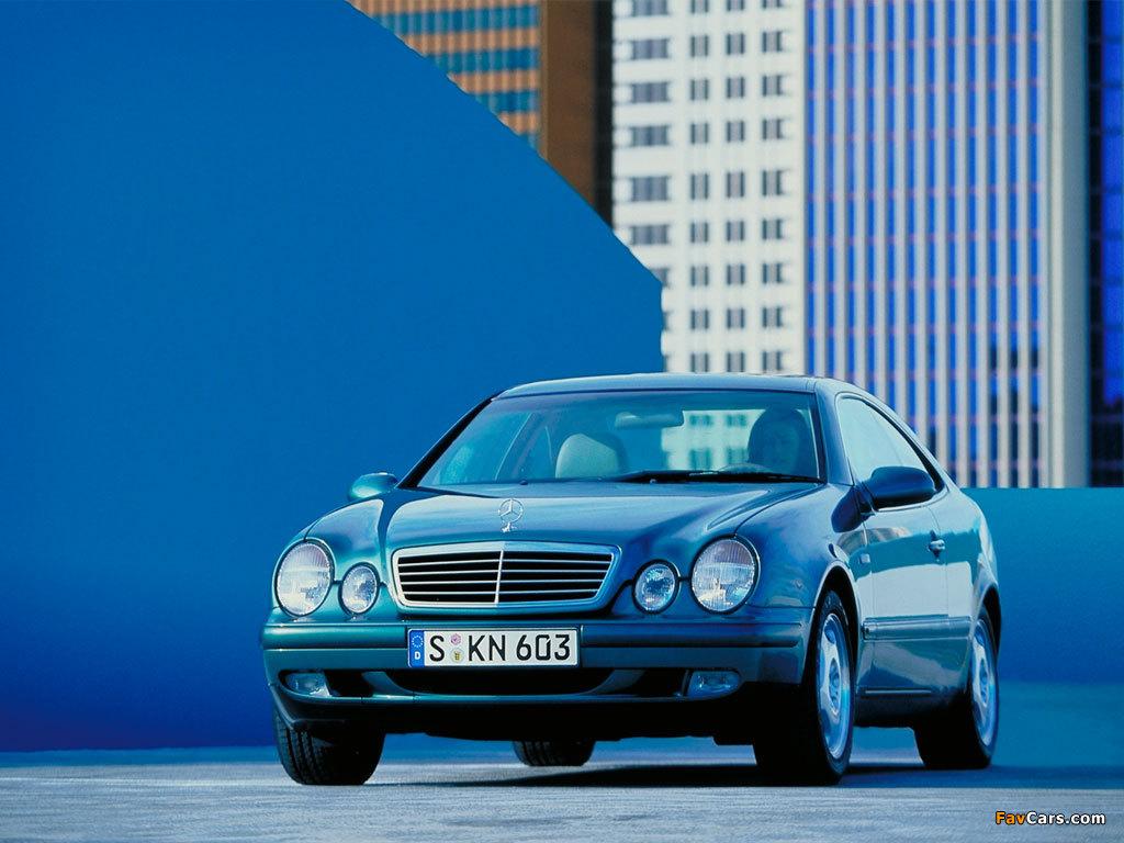 Mercedes-Benz CLK 320 (C208) 1997–2002 wallpapers (1024 x 768)