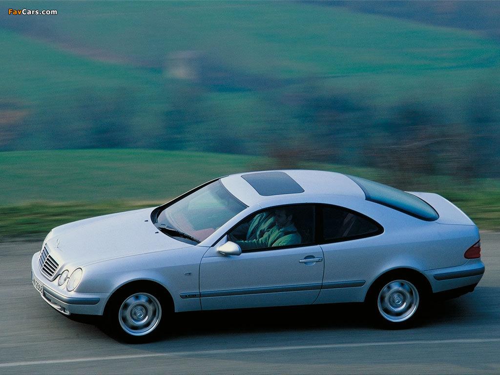 Mercedes-Benz CLK-Klasse (C208) 1997–2002 wallpapers (1024 x 768)