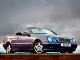 Mercedes-Benz CLK 320 Cabrio UK-spec (A208) 1998–2002 wallpapers