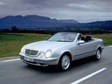 Mercedes-Benz CLK-Klasse Cabrio (A208) 1998–2002 wallpapers