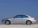 Mercedes-Benz CLK 500 (C209) 2002–05 wallpapers