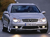 Mercedes-Benz CLK 55 AMG (C209) 2002–05 wallpapers
