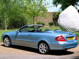 Mercedes-Benz CLK 240 Cabrio UK-spec (A209) 2003–05 wallpapers
