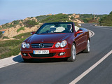Mercedes-Benz CLK 320 CDI Cabrio (A209) 2005–10 wallpapers