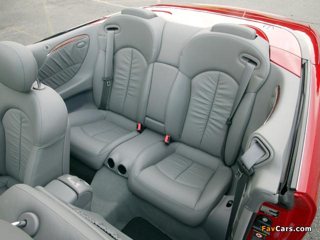 Mercedes-Benz CLK 350 Convertible US-spec (A209) 2005–10 wallpapers (640 x 480)