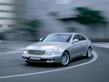 Images of Mercedes-Benz CLS 500 (S219) 2004–10