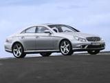 Images of Mercedes-Benz CLS 55 AMG (C219) 2005–10