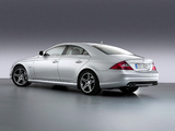 Images of Mercedes-Benz CLS 63 AMG (C219) 2007–08