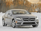 Images of Mercedes-Benz CLS 550 4MATIC AMG Sports Package (C218) 2010