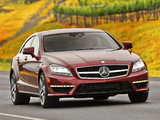 Images of Mercedes-Benz CLS 63 AMG US-spec (C218) 2010