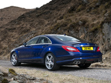 Images of Mercedes-Benz CLS 63 AMG UK-spec (C218) 2011