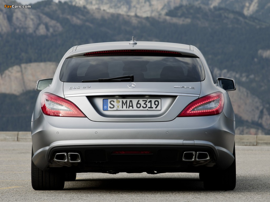 Images Of Mercedes Benz Cls 63 Amg Shooting Brake X218 2012 1024x768