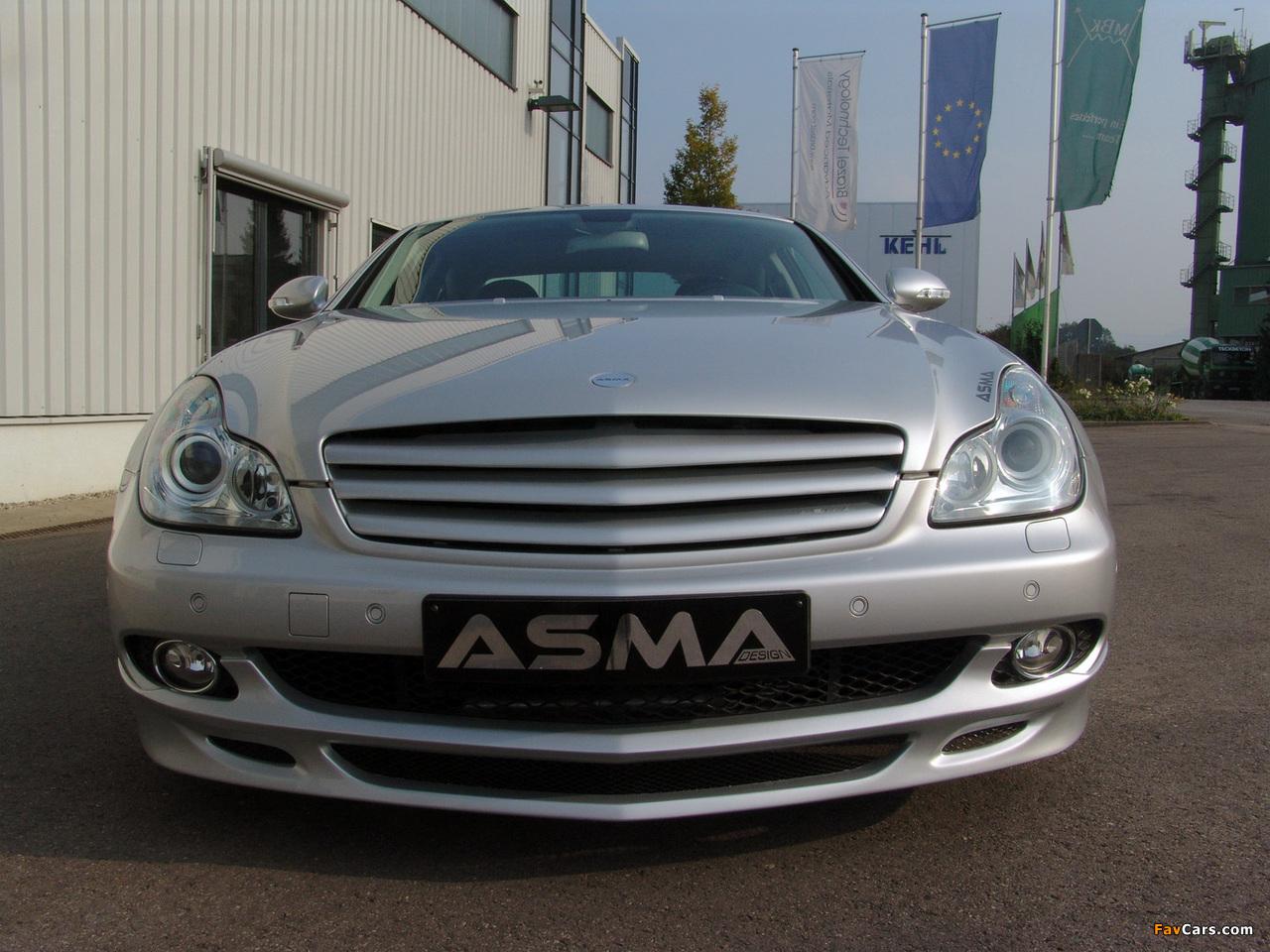 Asma Design CLS Shark (C219) 2005–10 images (1280 x 960)
