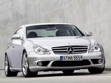 Mercedes-Benz CLS 55 AMG (C219) 2005–10 photos