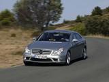 Mercedes-Benz CLS 55 AMG (C219) 2005–10 pictures