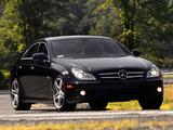 Mercedes-Benz CLS 63 AMG US-spec (C219) 2008–10 images