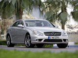 Mercedes-Benz CLS 63 AMG (C219) 2008–10 images