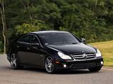 Mercedes-Benz CLS 63 AMG US-spec (C219) 2008–10 pictures
