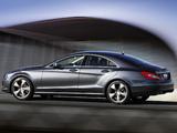 Mercedes-Benz CLS 350 CDI AU-spec (C218) 2010 images
