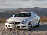 Mercedes-Benz CLS 350 CDI AMG Sports Package UK-spec (C218) 2010 images