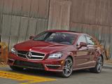 Mercedes-Benz CLS 63 AMG US-spec (C218) 2010 photos
