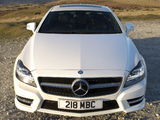 Mercedes-Benz CLS 350 CDI AMG Sports Package UK-spec (C218) 2010 photos