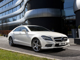 Mercedes-Benz CLS 350 CDI AMG Sports Package UK-spec (C218) 2010 pictures